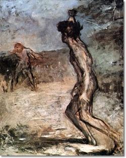 """David and Goliath"" Edgar Degas"